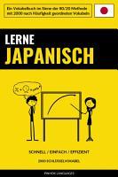 Lerne Japanisch   Schnell   Einfach   Effizient PDF
