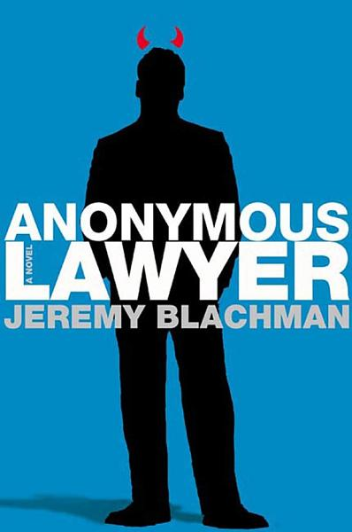 Download Anonymous Lawyer Book