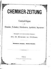 Chemiker-Zeitung: 1893, Band 17,Teil 2