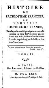 Histoire du patriotisme françois: Volume2
