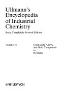 Ullmann s Encyclopedia of Industrial Chemistry PDF