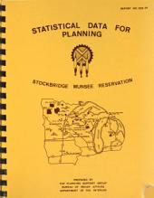 Statistical Data for Planning: Stockbridge Munsee Reservation