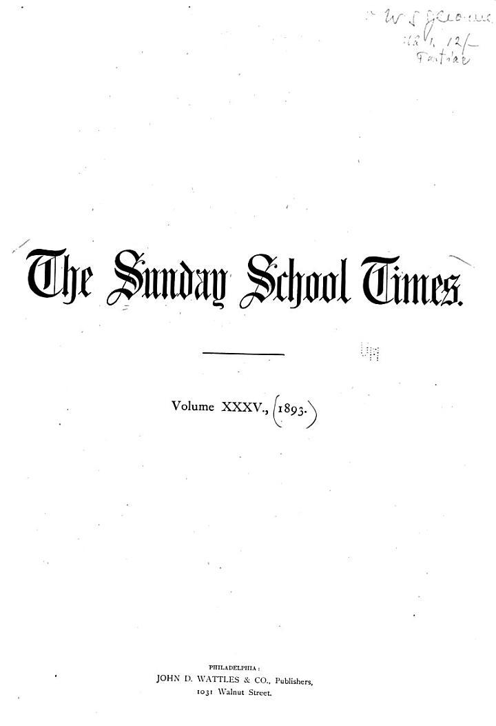 Sunday School Times