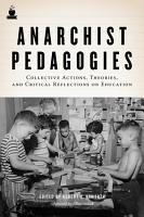 Anarchist Pedagogies PDF