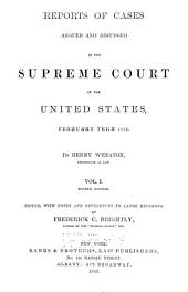 United States Reports: Cases Adjudged in the Supreme Court, Volume 14