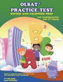 Olsat r  Practice Test Gifted and Talented Prep for Kindergarten and 1st Grade PDF