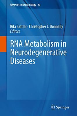 RNA Metabolism in Neurodegenerative Diseases