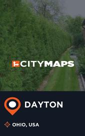 City Maps Dayton Ohio, USA