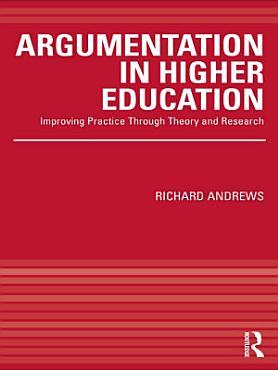 Argumentation in Higher Education PDF