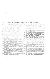 The Central Law Journal: Volume 36
