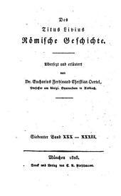 Römische Geschichte: XXX - XXXIII.