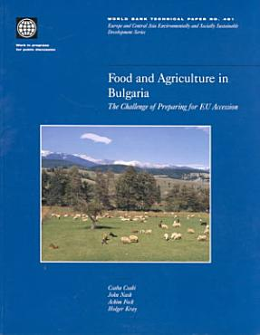 Food and Agriculture in Bulgaria PDF