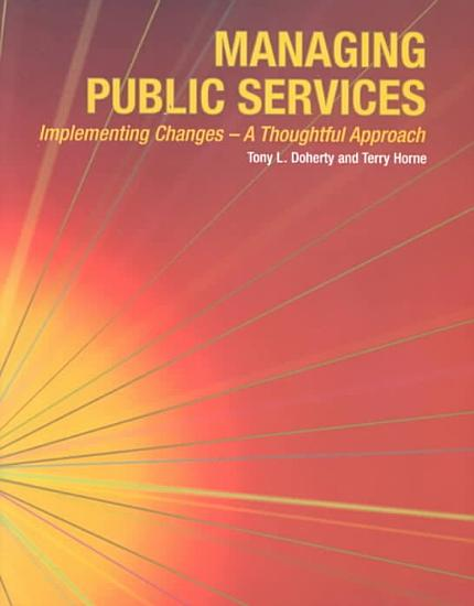 Managing Public Services  implementing Changes PDF