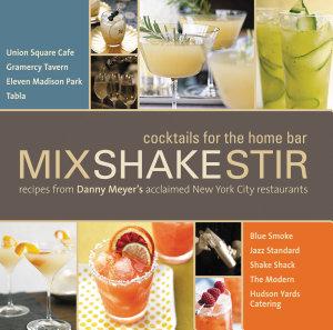 Mix Shake Stir Book