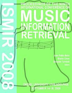 ISMIR 2008 PDF