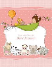 Livro para Colorir de Bebê Menina 1