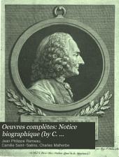 Notice biographique (by C. Malherbe) Pièces de clavecin