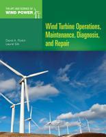 Wind Turbine Operations  Maintenance  Diagnosis  and Repair PDF