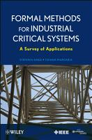 Formal Methods for Industrial Critical Systems PDF