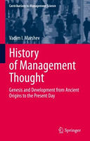 History of Management Thought PDF