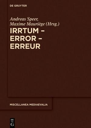 Irrtum     Error     Erreur PDF