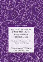 Native Cultural Competency in Mainstream Schooling PDF