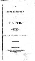A Disquisition on Faith PDF
