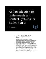 An Introduction to Instruments and Control Systems for Boiler Plants PDF