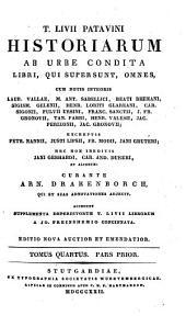 Historiae ab urbe condita: Volume 4, Issue 1