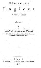 Continens Introductionem in Philosophiam universam et Logicam: Volume 1