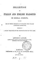 Collection of Italian and English dialogues on general subjects PDF