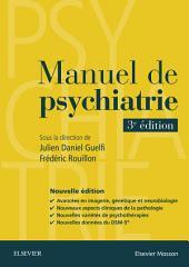 Manuel de psychiatrie: Édition 3