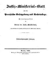 Deutsche justiz: rechtspflege und rechtspolitik ... Amtliches blatt der deutschen rechtspflege, Band 27