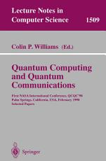 Quantum Computing and Quantum Communications PDF