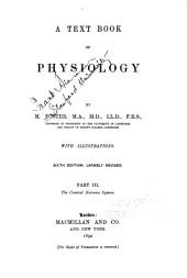 A Text Book of Physiology: The central nervous system