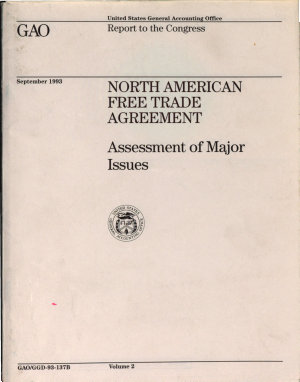 North American Free Trade Agreements PDF