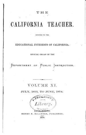 The California Teacher