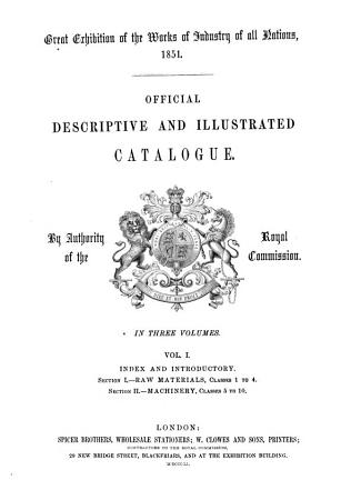 Official Descriptive and Illustrated Catalogue PDF