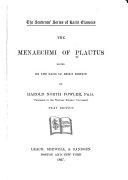 Download The Menaechmi of Plautus Book