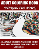Adams Adult Coloring Book: