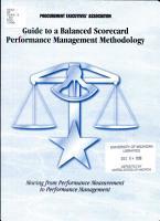 Guide to a Balanced Scorecard PDF
