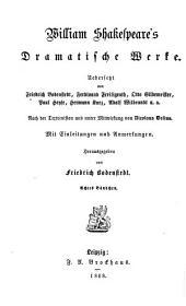 Dramatische Werke: König Heinrich der Vierte ; Theil 1, Band 8