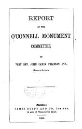 Report of the O'Connell Monument Committee