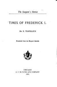 Times of Frederick I PDF