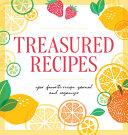 Treasured Recipes   a Blank Recipe Book
