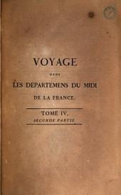 Voyage dans les départements du midi de la France