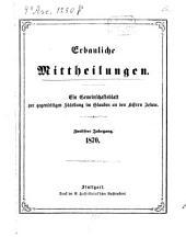 Erbauliche Mitteilungen: e. Gemeinschaftsbl. zur gegenseitigen Stärkung im Glauben an d. Herrn Jesum, Band 12