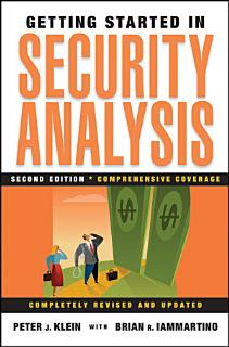 Getting Started in Security Analysis Book