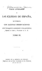 Viage literario á las iglesias de España: Segorbe 1902