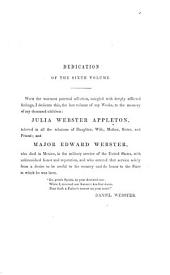 The Works of Daniel Webster...: Volume 6